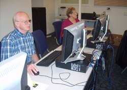 Computer training for seniors