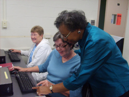 Tech training for seniors
